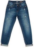 7 For All Mankind Little Girl's & Girl's Josefina Distressed Jeans