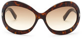 Tom Ford Women&s Edie Butterfly Sunglasses