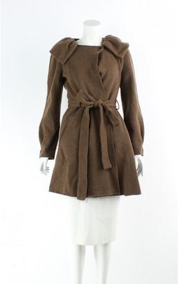 Moschino Brown Wool Jackets