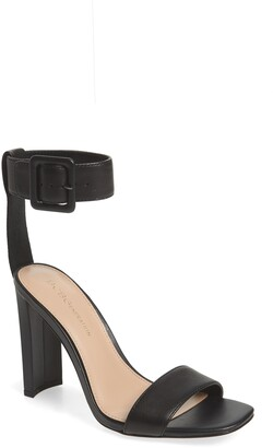 BCBGeneration Winoni Buckle Ankle Strap Sandal