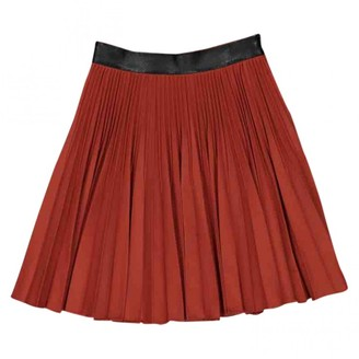 Gucci Red Wool Skirt for Women