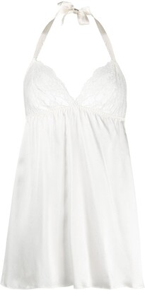 Gilda & Pearl silk Eva babydoll top