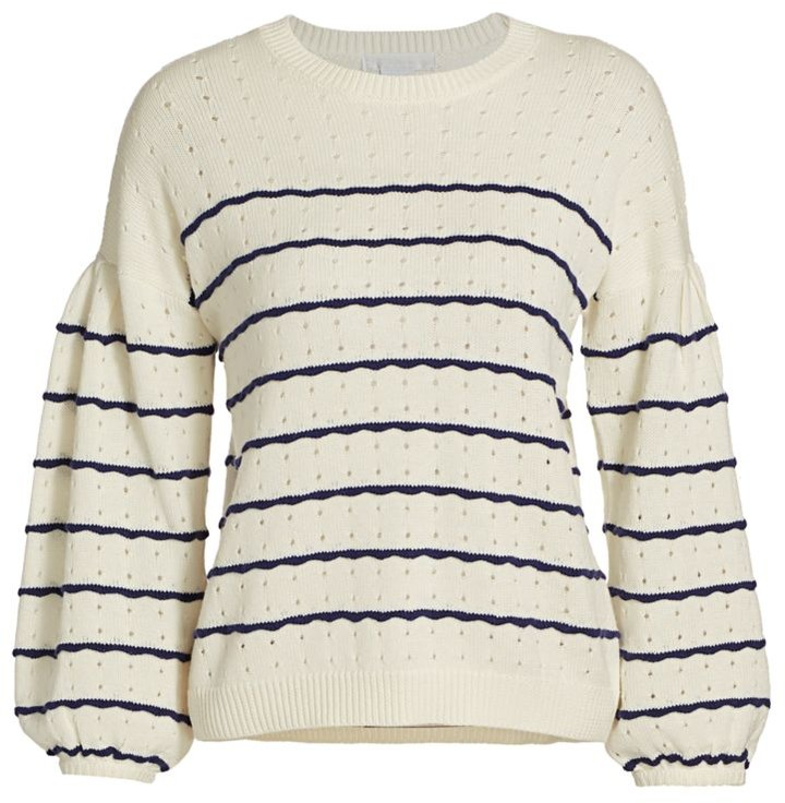 Design History Puff-Sleeve Sweater