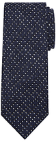 John Lewis & Co. Made In Italy Wool Spot Tie, Navy/white