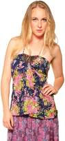 By Closet Floral Halter Top