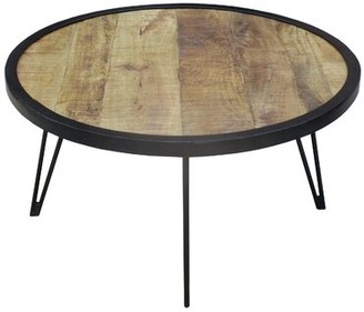 "Amalia Millwood Pines Coffee Table Millwood Pines Size: 18""H x 35"" W"