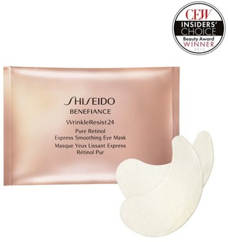 Shiseido Benefiance Wrinkle Resist 24 Pure Retinol Express Smoothing Eye Mask