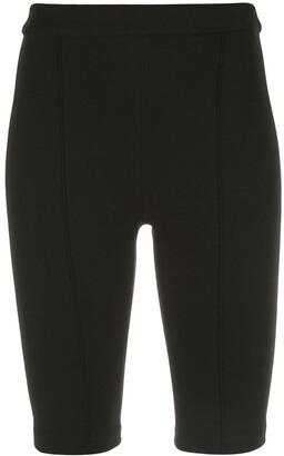 Rosetta Getty Knee-Length Shorts