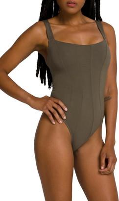Good American Contoured Thong Bodysuit