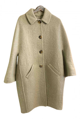 Ermanno Scervino Green Wool Coats