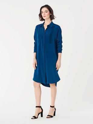Diane von Furstenberg Annalyse Reversible Satin Slip Dress