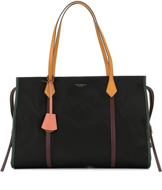 Tory Burch Perry colour block tote bag