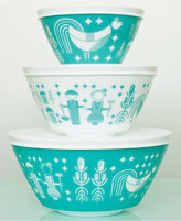Pyrex Vintage Charm inspired by Rise N Shine 6-Pc. Mixing Bowl Set