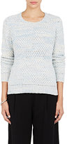 The Elder Statesman Women's Stockinette-Stitched Sweater