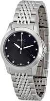 Gucci Women's YA126505 Timeless Black Dial Watch