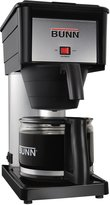 Bunn-O-Matic Classic Home Coffee Brewer - BX-B - Black/Stainless - 10-Cup