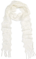 Hinge Crochet Skinny Scarf