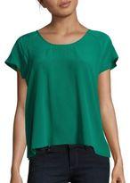 Joie Bellona Short Sleeve Silk Top