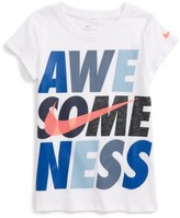 Nike Toddler Girl's Awesomeness Graphic Tee