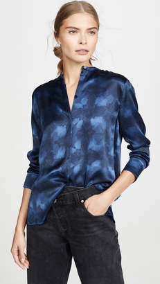 Vince Winter Tie Dye Blouse