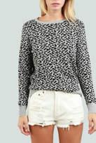 POL Animal Print Sweater