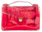 Marc by Marc Jacobs PVC & Leather Satchel