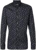 Lanvin animal print shirt