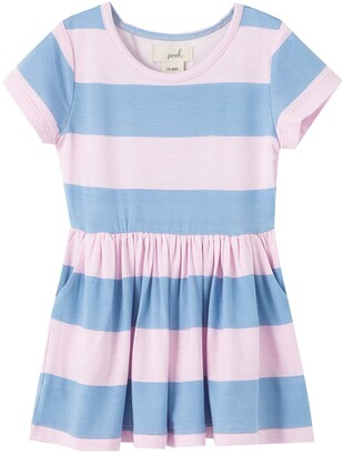 Peek Aren't You Curious Stripe T-Shirt Dress
