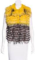Naomi Fox Fur Vest
