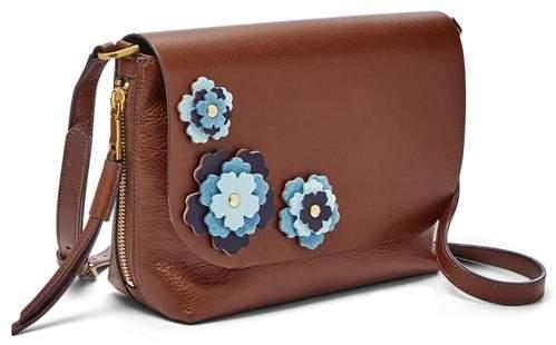 Maya Handbags Crossbody Multi Small Brown c5Ajq43RL