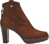Stuart Weitzman Hipgal suede ankle boot