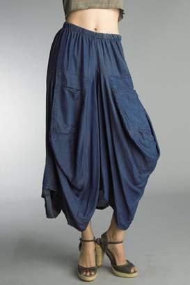Tempo Paris Navy Bubble Skirt