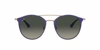 Ray-Ban Steel Unisex Round Sunglasses