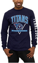 Junk Food Clothing Men's Tennessee Titans Nickel Formation Long Sleeve T-Shirt