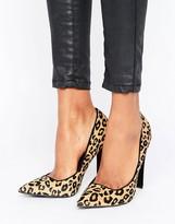 Paper Dolls Leopard Print Court Shoe