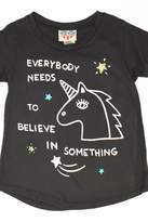 Junk Food Clothing Believe Tee