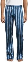 La Perla Men's Silk Embroidered Pants