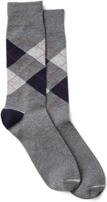 Gap Argyle Crew Socks