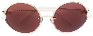 Marni Eyewear Round Acetate Sunglasses