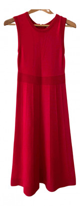 Boden Red Cotton Dresses