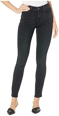 Paige Hoxton Ankle in Black Willow (Black Willow) Women's Jeans