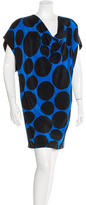 Gucci Silk Dot Print Dress