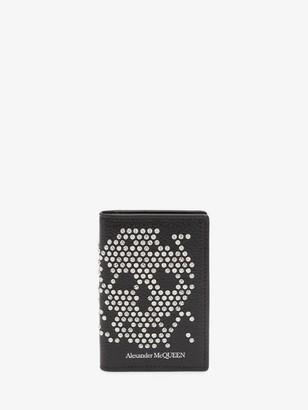 Alexander McQueen Studded Leather Pocket Organizer