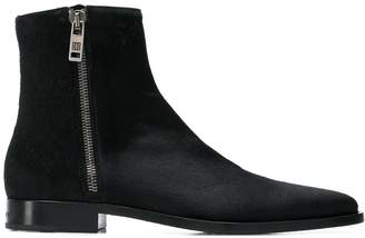 Givenchy zipped ankle boots