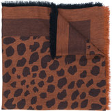 Paul Smith printed scarf - women - Silk/Cotton/Wool - One Size