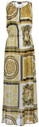 Versace Barocco Mosaic silk maxi dress