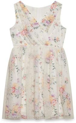 Yumi Girls Garden Party Mesh Dress