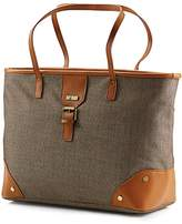 Hartmann Herringbone Luxe Shoulder Bag