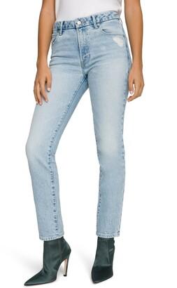 Good American Good Classic Straight Leg Jeans