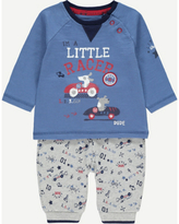 George Little Racer Top and Bottoms Set
